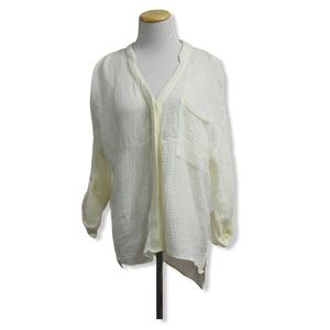 NWT Anthropologie Young Fabulous Broke Button Down